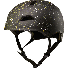 Fox Flight Splatter Helmet Men black/gold